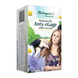 Herbatka Fix - Anty-zGago, herbatka ziołowa-owocowa, 40g (20 saszetek x 2g)