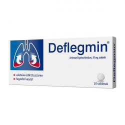 Deflegmin - tabletki 30 mg, zawartość: 20 szt.