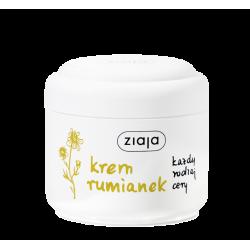 Ziaja - krem rumianek, dla każdego rodzaju cery, poj. 100 ml
