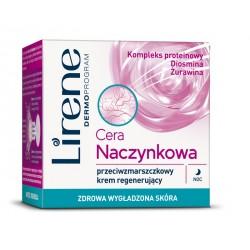 Cera naczynkowa - przeciwzmarszczkowy krem regenerujący na noc, poj. 50 ml.