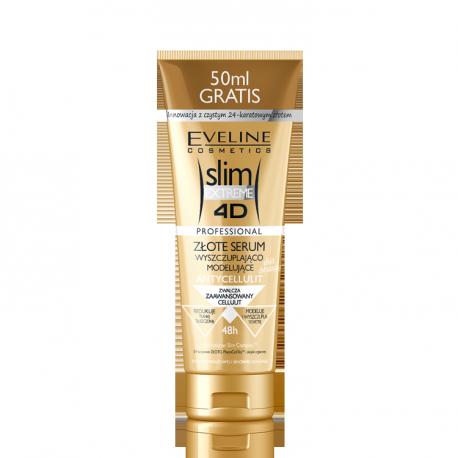 Slim Extreme 4D - złote serum wyszczuplająco-modelujące, poj. 250 ml.