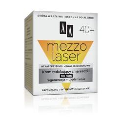 Mezzolaser 40+. Krem redukujący zmarszczki na noc, poj. 50 ml.