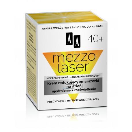Mezzolaser 40+. Krem redukujący zmarszczki na dzień, poj. 50 ml.