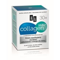 Collagen Hial+ 30+. Krem ujędrniajaco-nawilżający na dzień, poj. 50 ml.