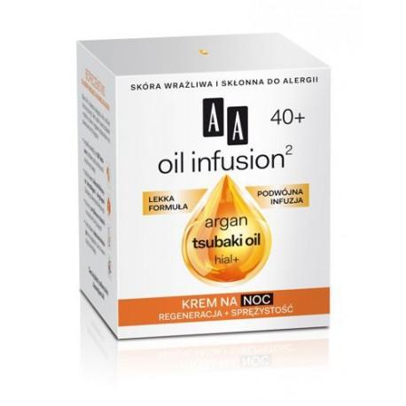 OIL INFUSION2 40+. Krem na noc, poj. 50 ml.
