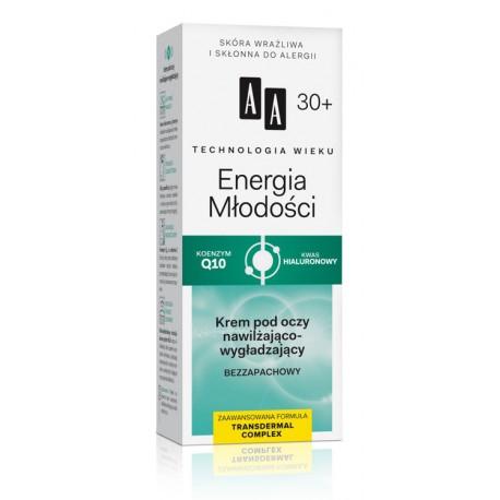 Technologia Wieku 30+ Energia Młodości - krem pod oczy, poj. 15 ml.