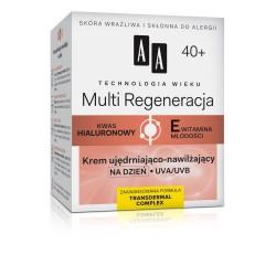 Technologia Wieku 40+ Multi Regeneracja - krem ujędrniająco-nawilżający na dzień, poj. 50 ml.