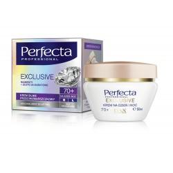 Perfecta Exclusive - krem silnie przeciwzmarszczkowy na dzień i noc 70+, poj. 50 ml.